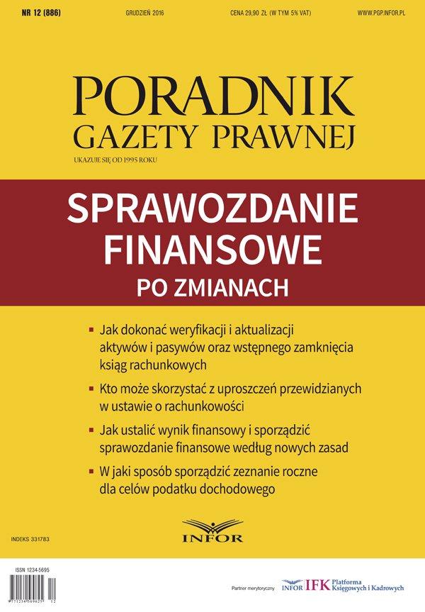 Sprawozdanie finansowe po zmianach - Ebook (Książka PDF) do pobrania w formacie PDF