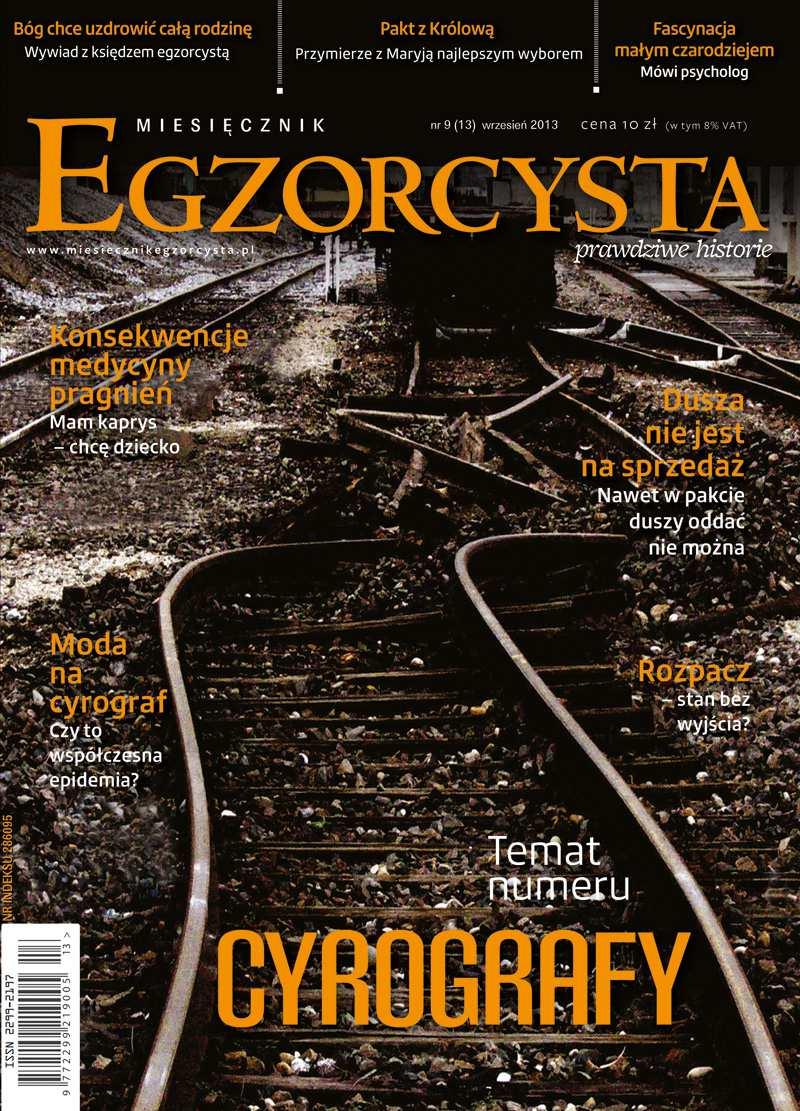 Miesięcznik Egzorcysta 13 (9/2013) - Ebook (Książka PDF) do pobrania w formacie PDF