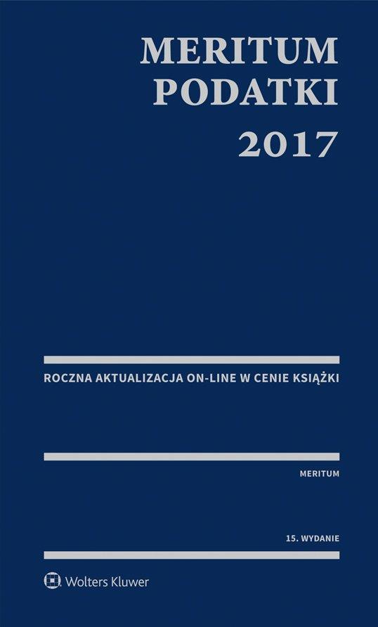 MERITUM Podatki 2017 - Ebook (Książka PDF) do pobrania w formacie PDF