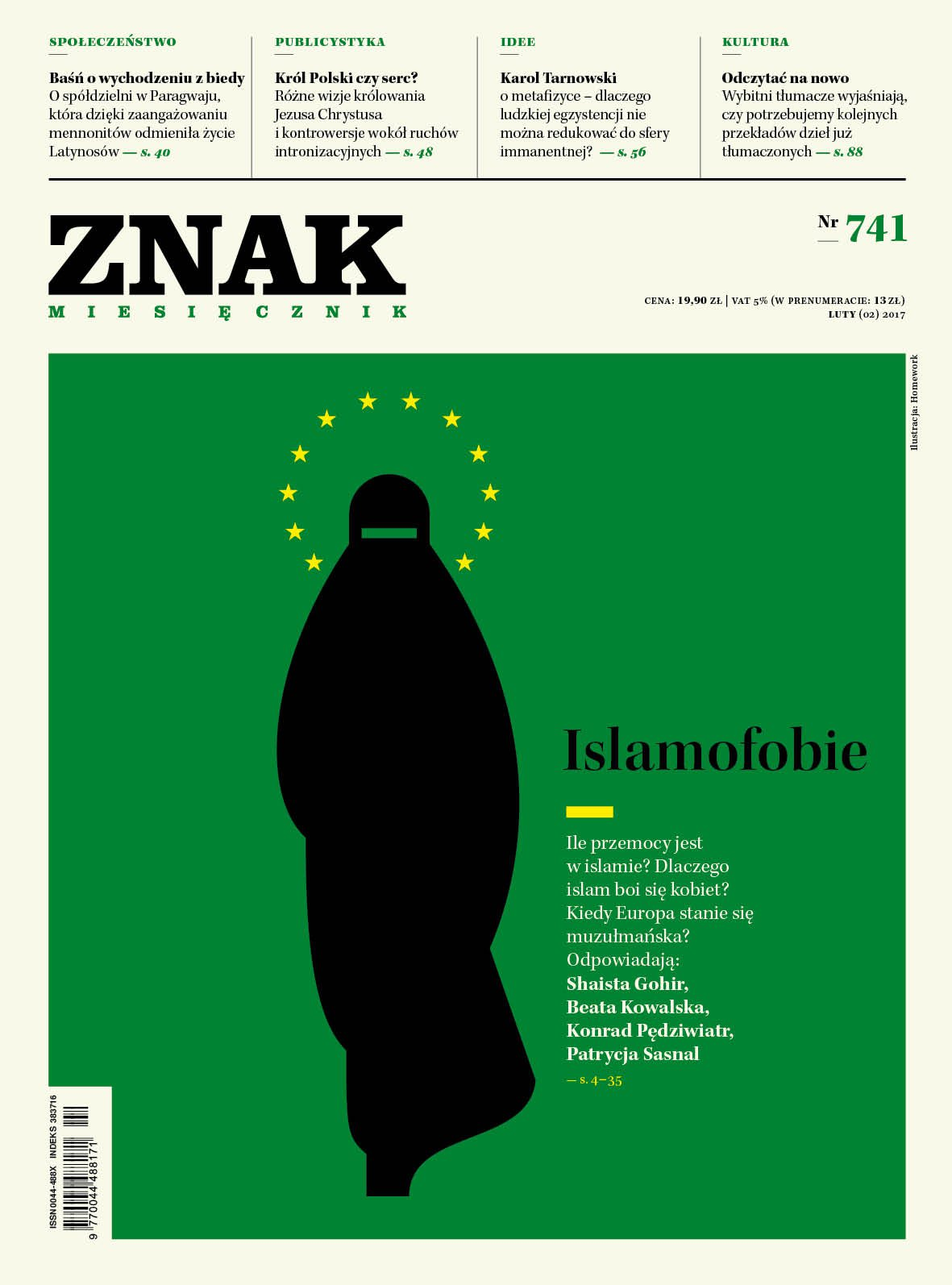 Miesięcznik Znak nr 741: Islamofobie - Ebook (Książka PDF) do pobrania w formacie PDF