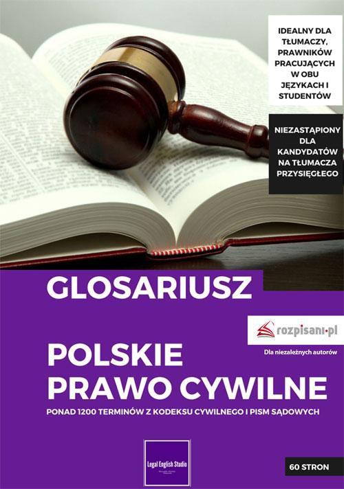 Glosariusz. Polskie prawo cywilne - Ebook (Książka EPUB) do pobrania w formacie EPUB