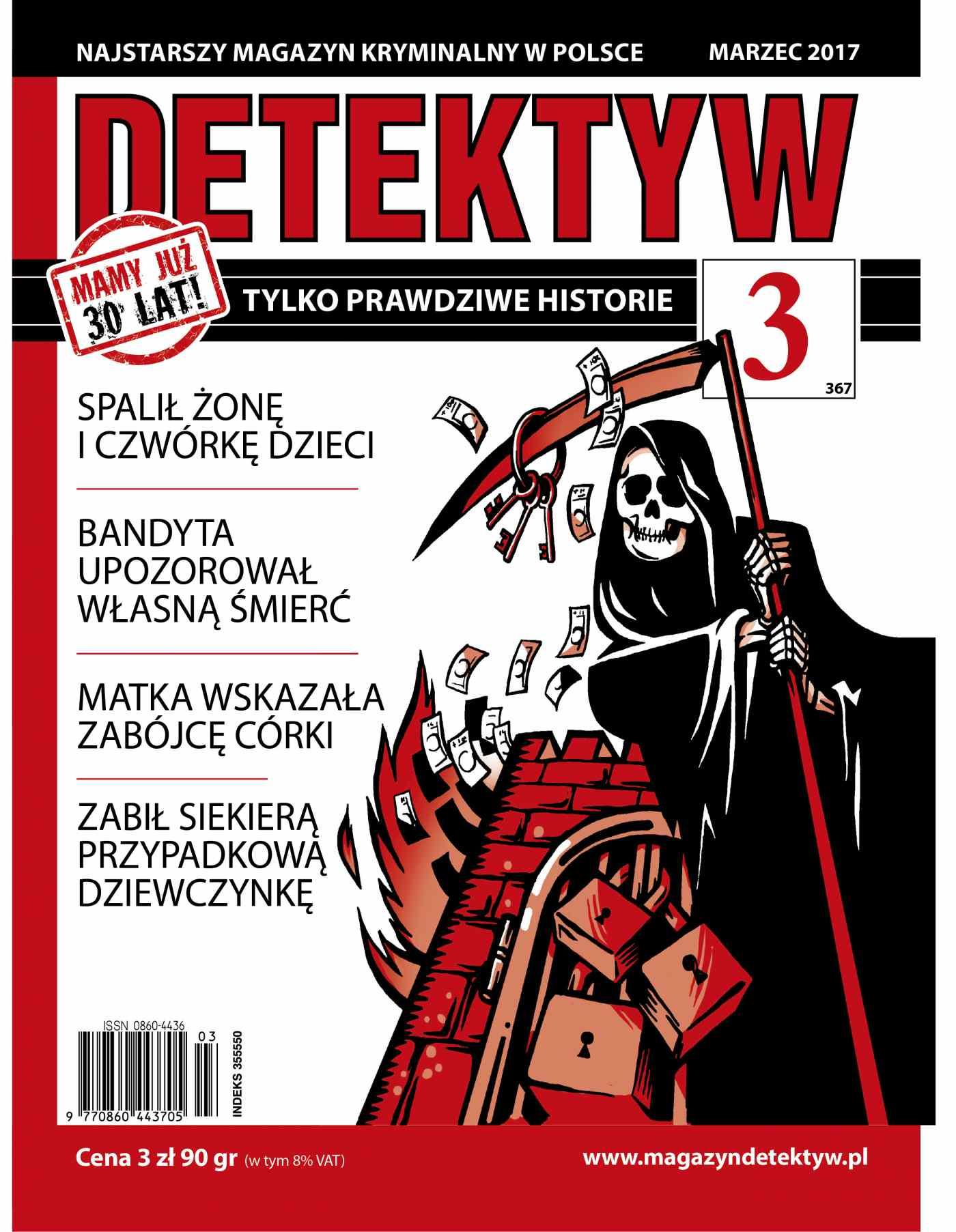 Detektyw 3/2017 - Ebook (Książka na Kindle) do pobrania w formacie MOBI