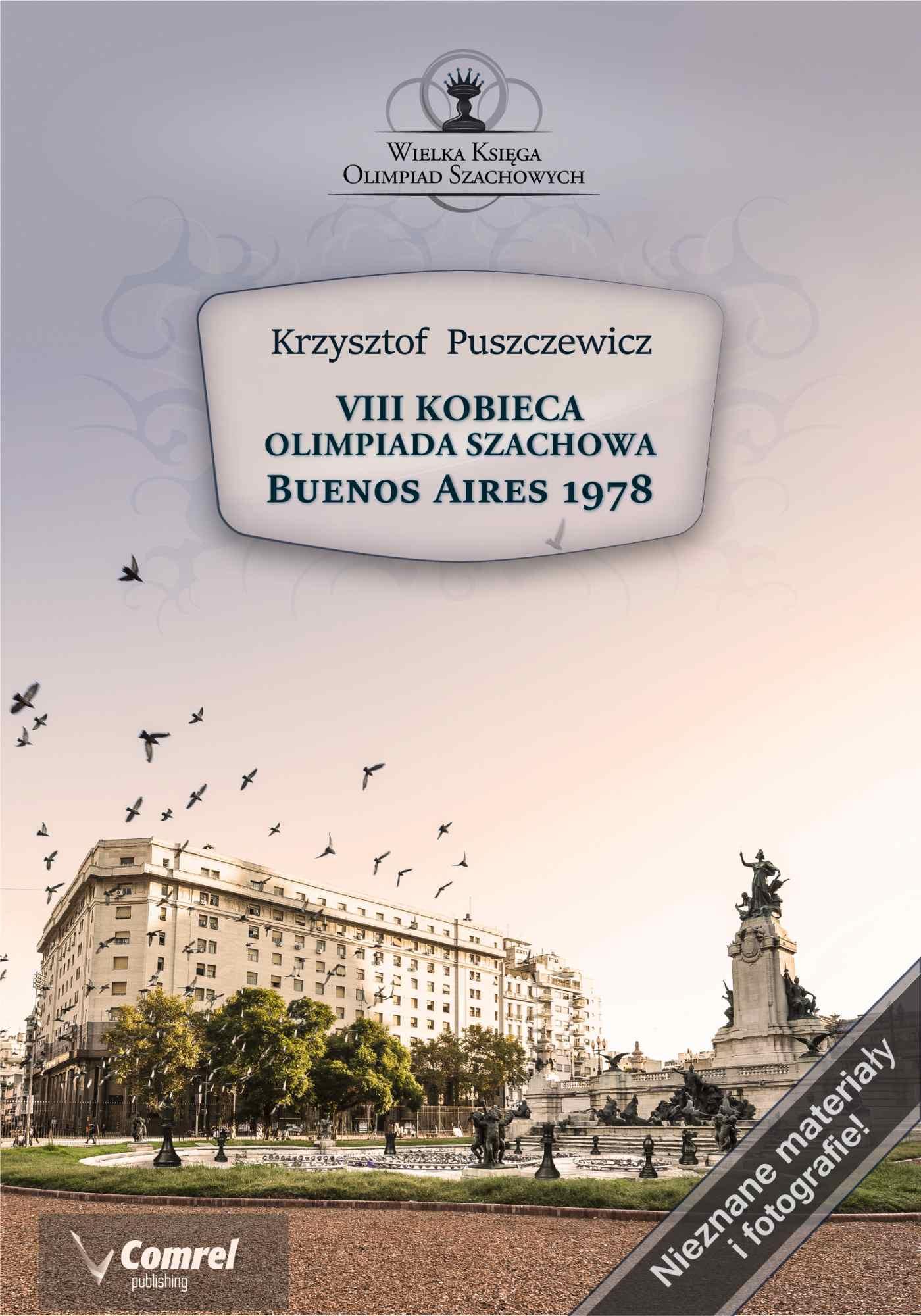 VIII Kobieca Olimpiada Szachowa - Buenos Aires 1978 - Ebook (Książka PDF) do pobrania w formacie PDF