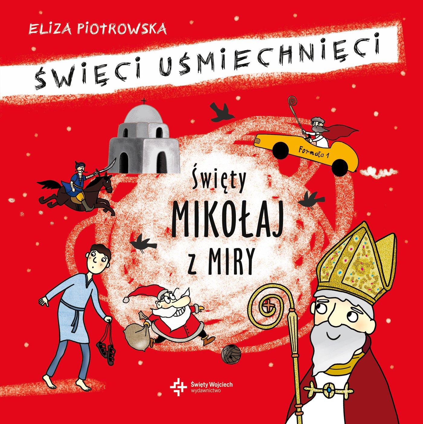 Święty Mikołaj z Miry - Audiobook (Książka audio MP3) do pobrania w całości w archiwum ZIP