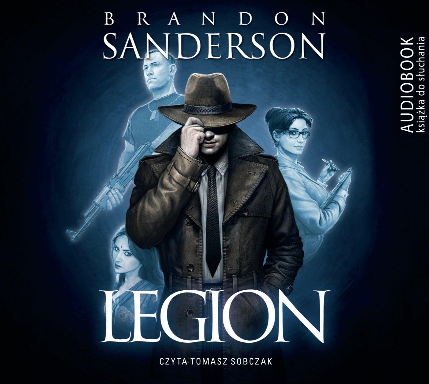 Legion- Darmowy fragment - Audiobook (Książka audio MP3) do pobrania w całości w archiwum ZIP