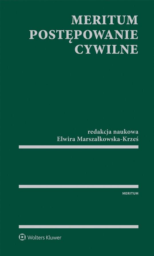 MERITUM Postępowanie cywilne - Ebook (Książka PDF) do pobrania w formacie PDF