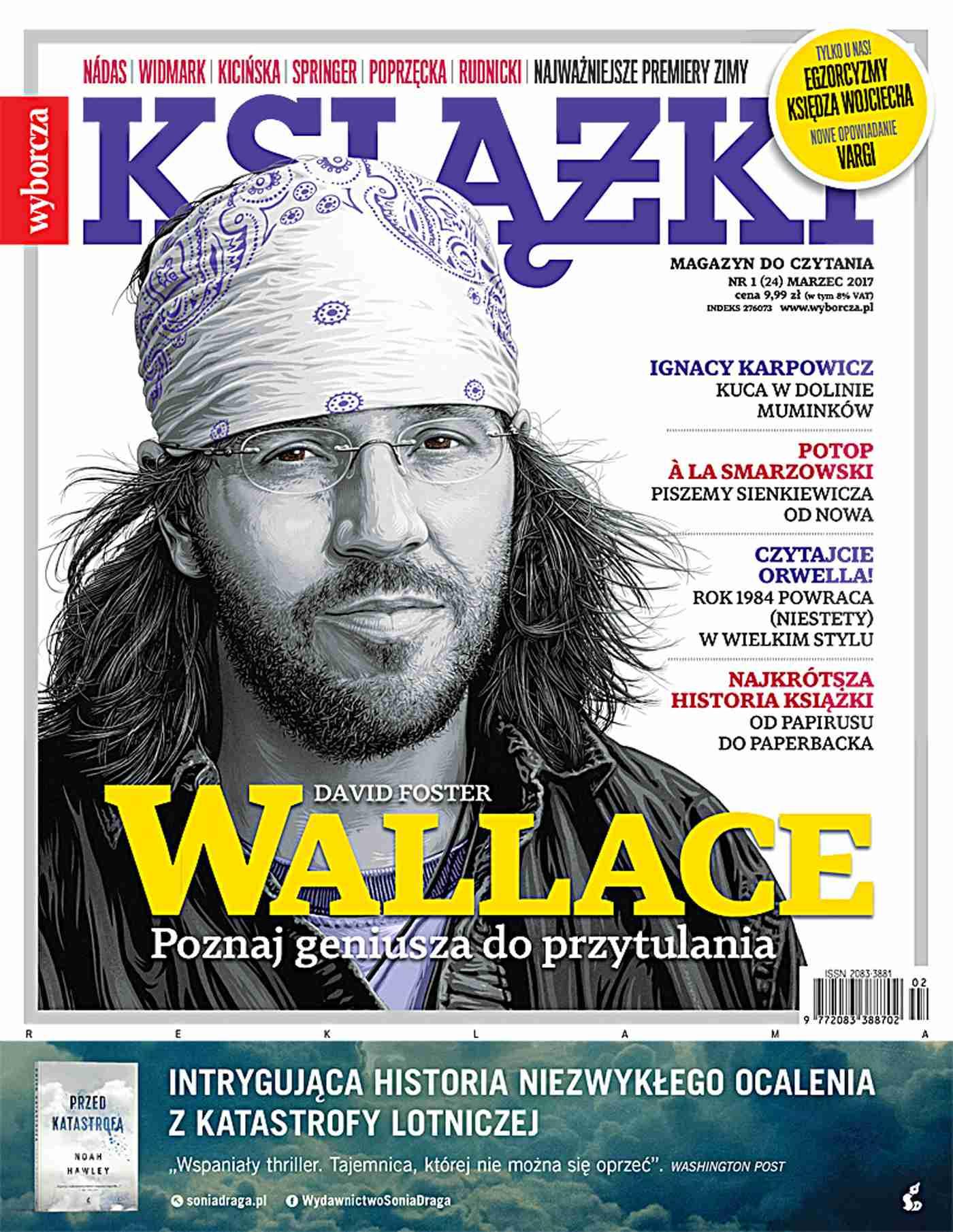 Książki. Magazyn do czytania 1/2017 - Ebook (Książka EPUB) do pobrania w formacie EPUB