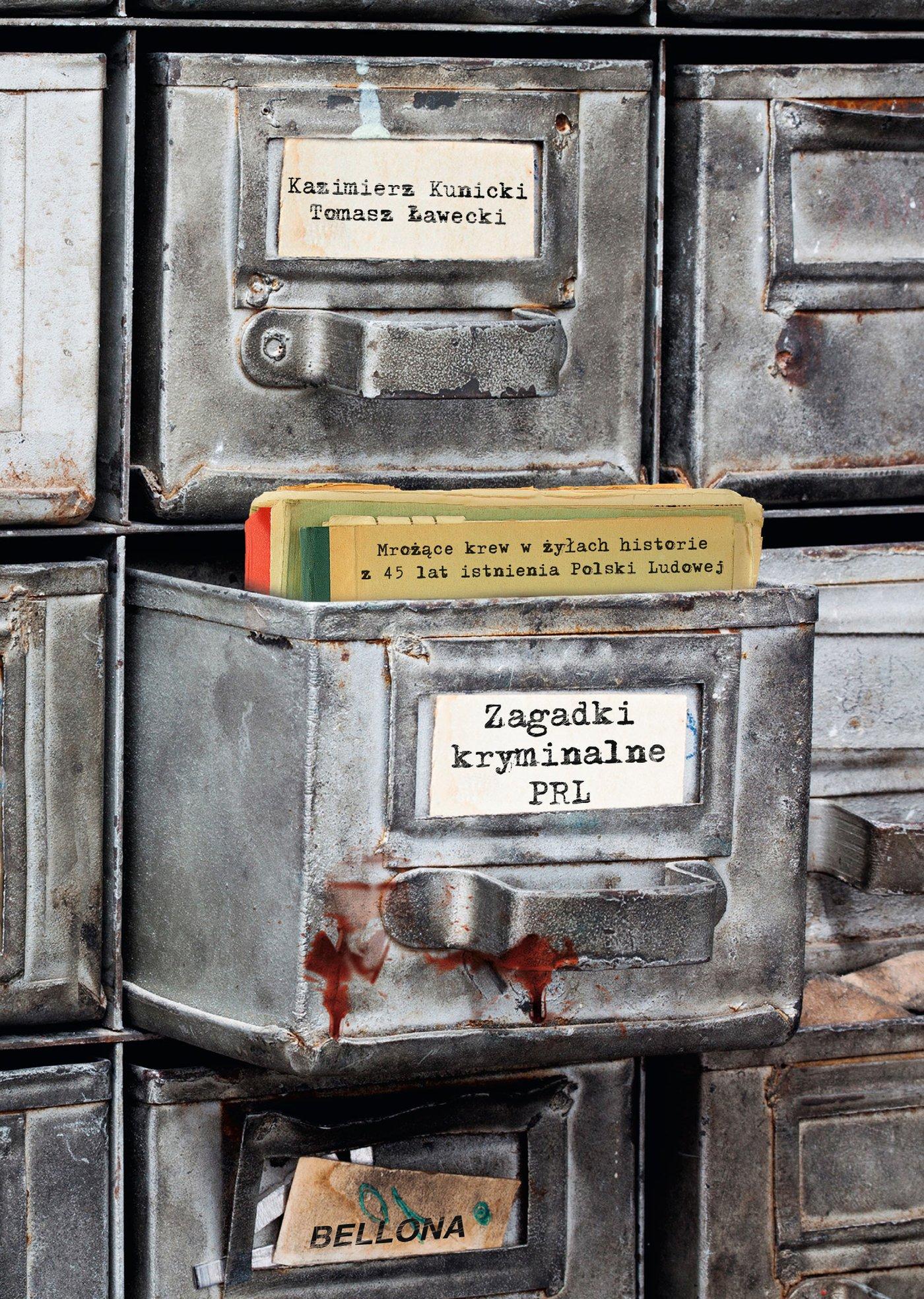 Zagadki kryminalne PRL - Ebook (Książka na Kindle) do pobrania w formacie MOBI