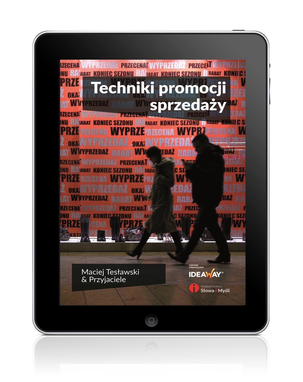 Techniki promocji sprzedaży - Ebook (Książka EPUB) do pobrania w formacie EPUB