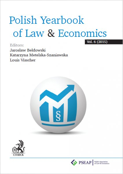 Polish Yearbook of Law & Economics. Vol. 6 (2015) - Ebook (Książka PDF) do pobrania w formacie PDF