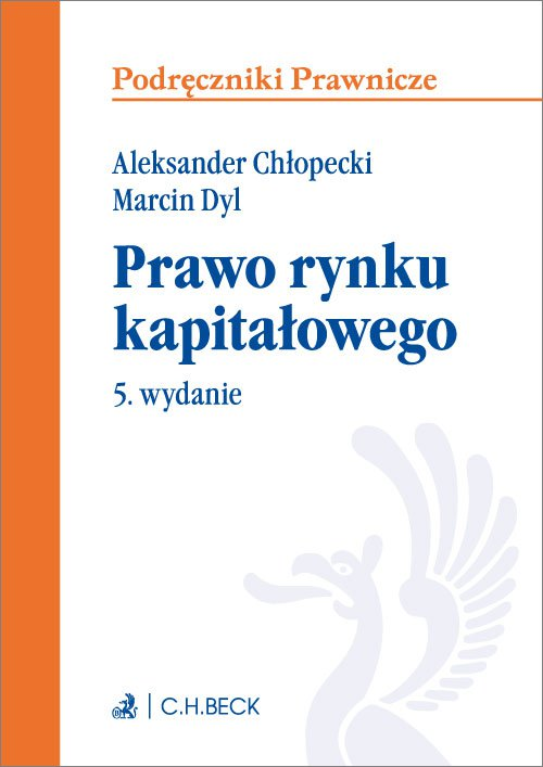 Prawo rynku kapitałowego. Wydanie 5 - Ebook (Książka PDF) do pobrania w formacie PDF
