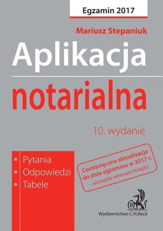 Aplikacja notarialna. Pytania odpowiedzi tabele - Ebook (Książka PDF) do pobrania w formacie PDF