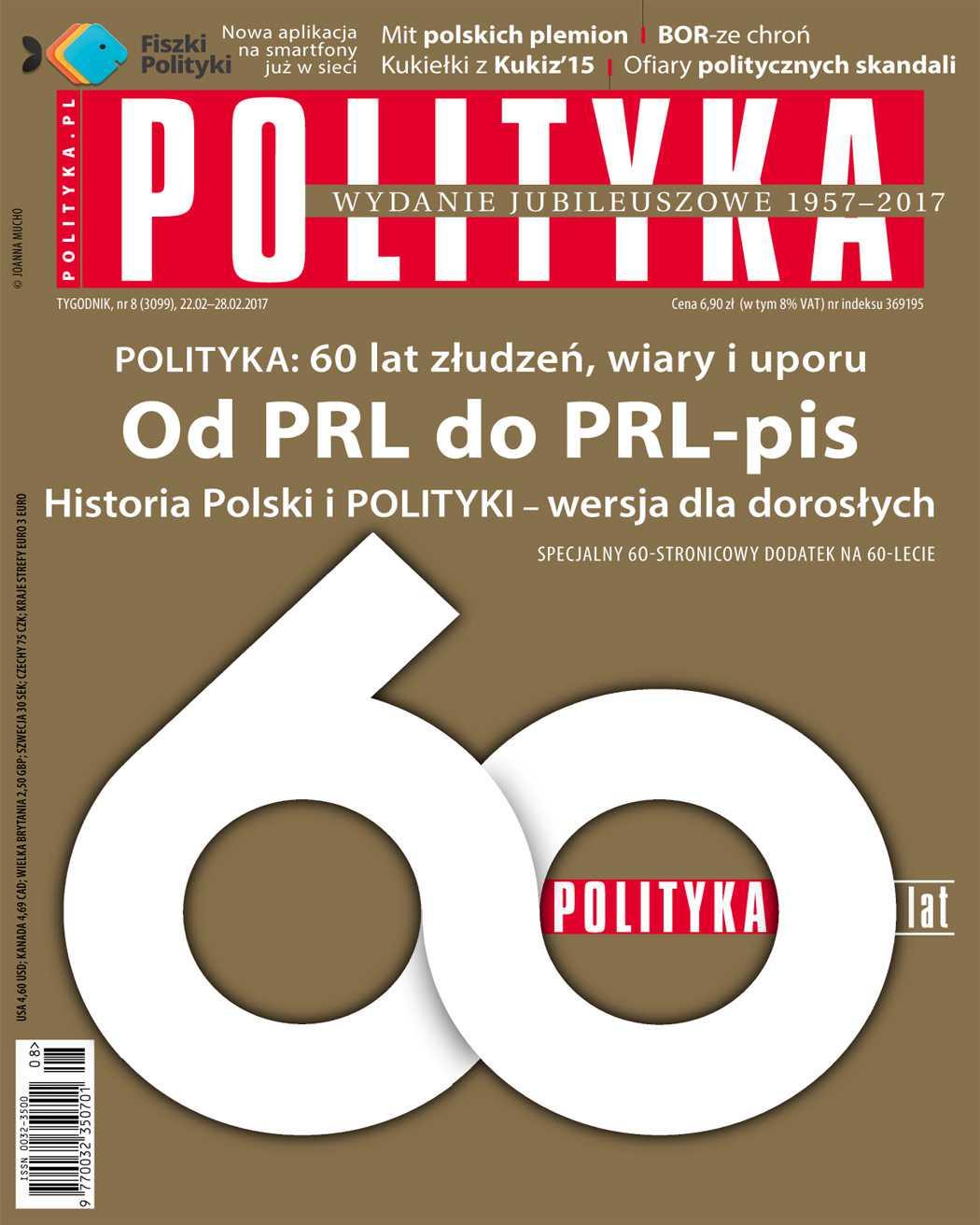 Polityka nr 8/2017 - Ebook (Książka PDF) do pobrania w formacie PDF