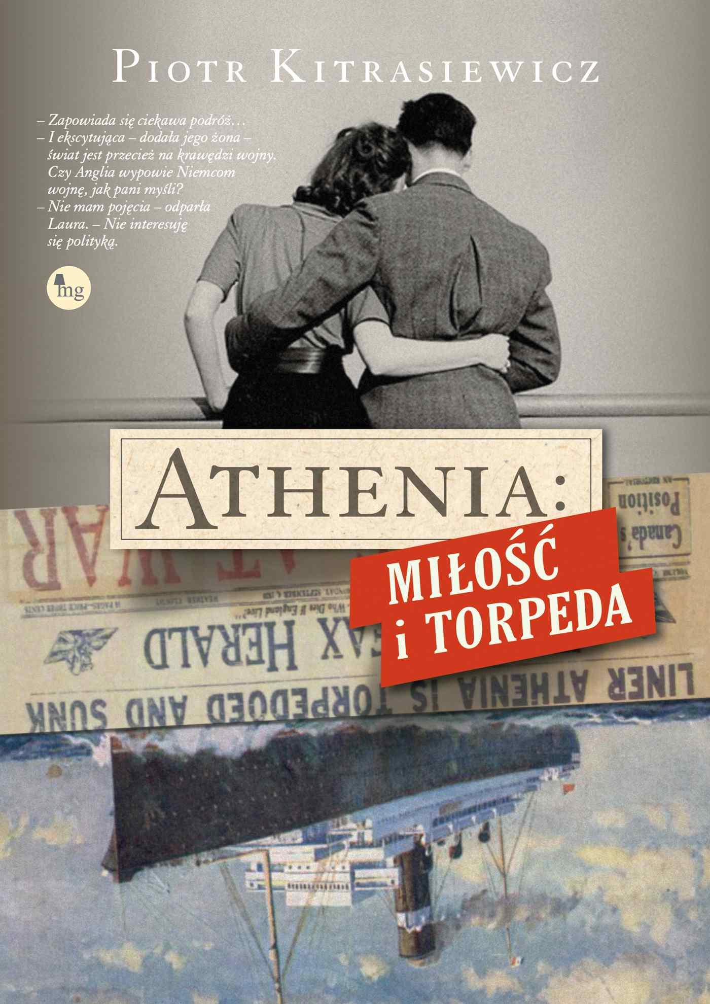 Athenia: Miłość i torpeda - Ebook (Książka EPUB) do pobrania w formacie EPUB