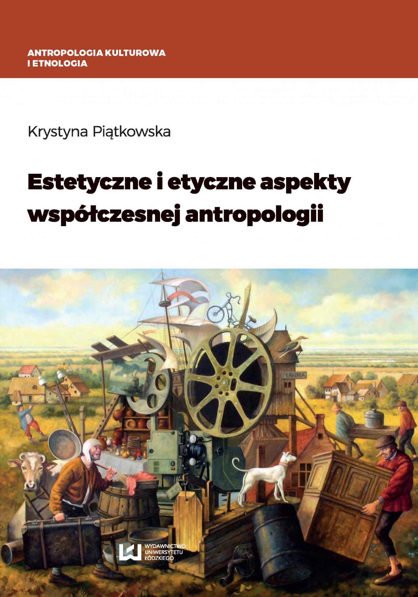 Estetyczne i etyczne aspekty współczesnej antropologii - Ebook (Książka PDF) do pobrania w formacie PDF