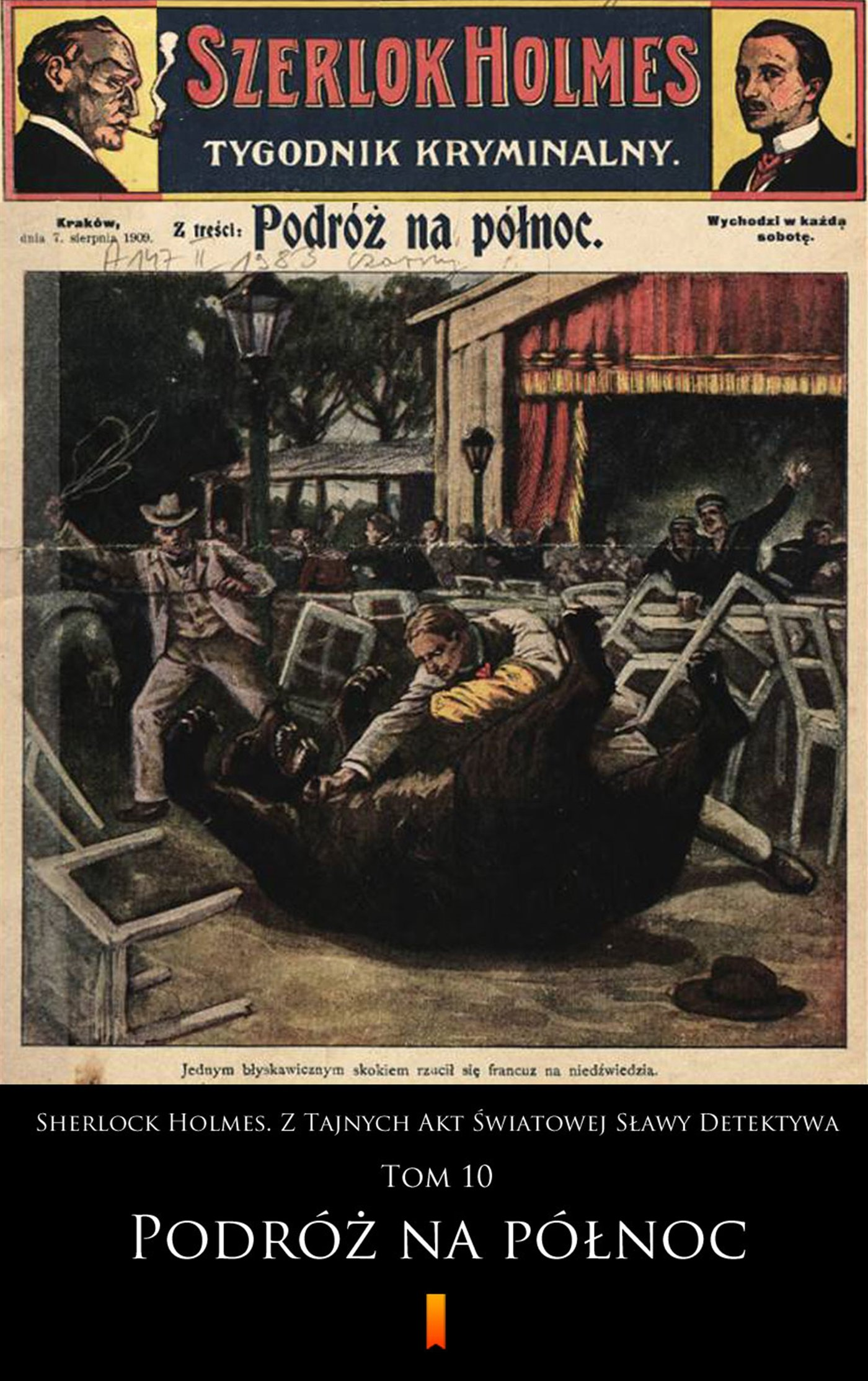 Sherlock Holmes. Z Tajnych Akt Światowej Sławy Detektywa. Tom 10 - Ebook (Książka na Kindle) do pobrania w formacie MOBI