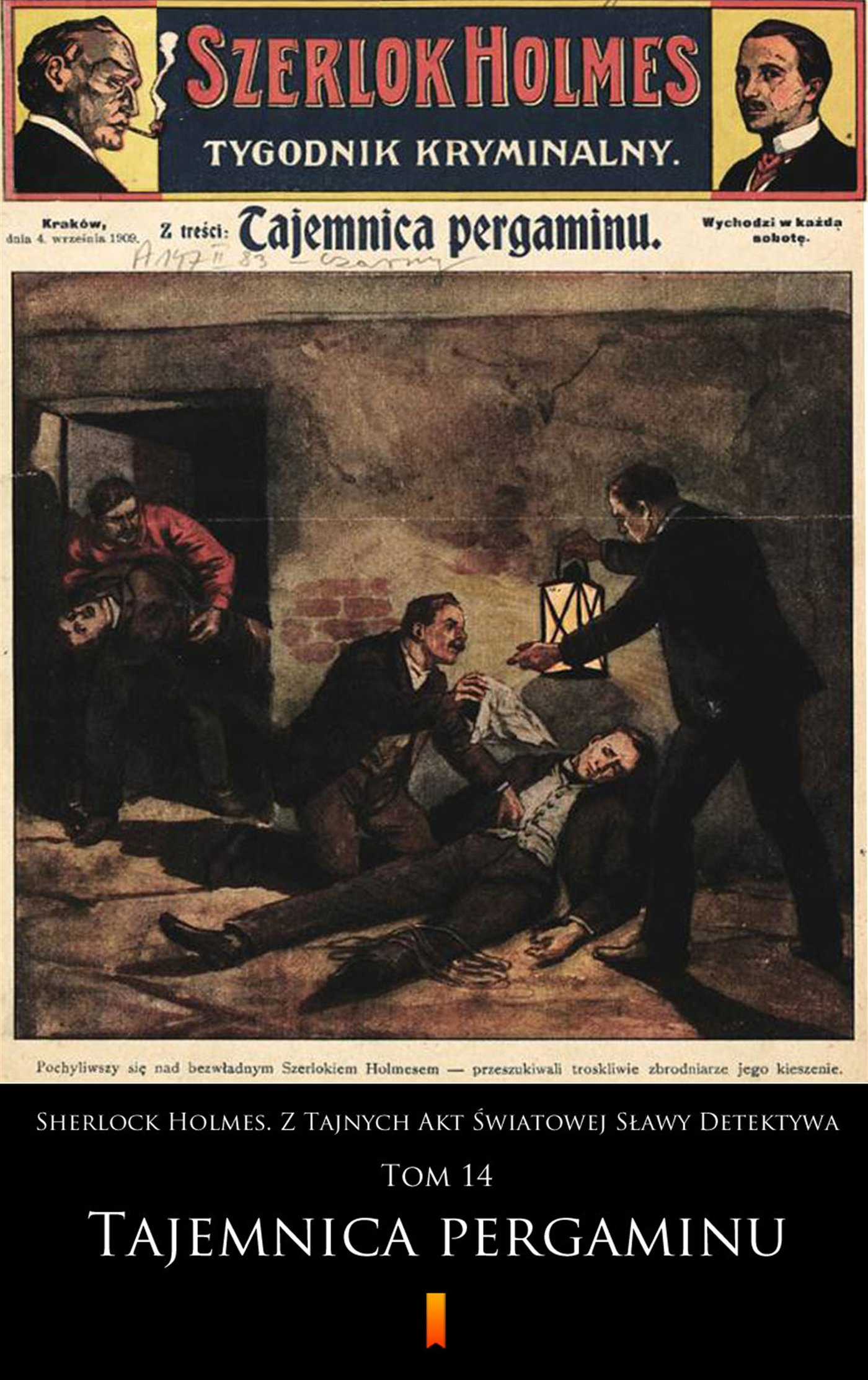 Sherlock Holmes. Z Tajnych Akt Światowej Sławy Detektywa. Tom 14 - Ebook (Książka EPUB) do pobrania w formacie EPUB