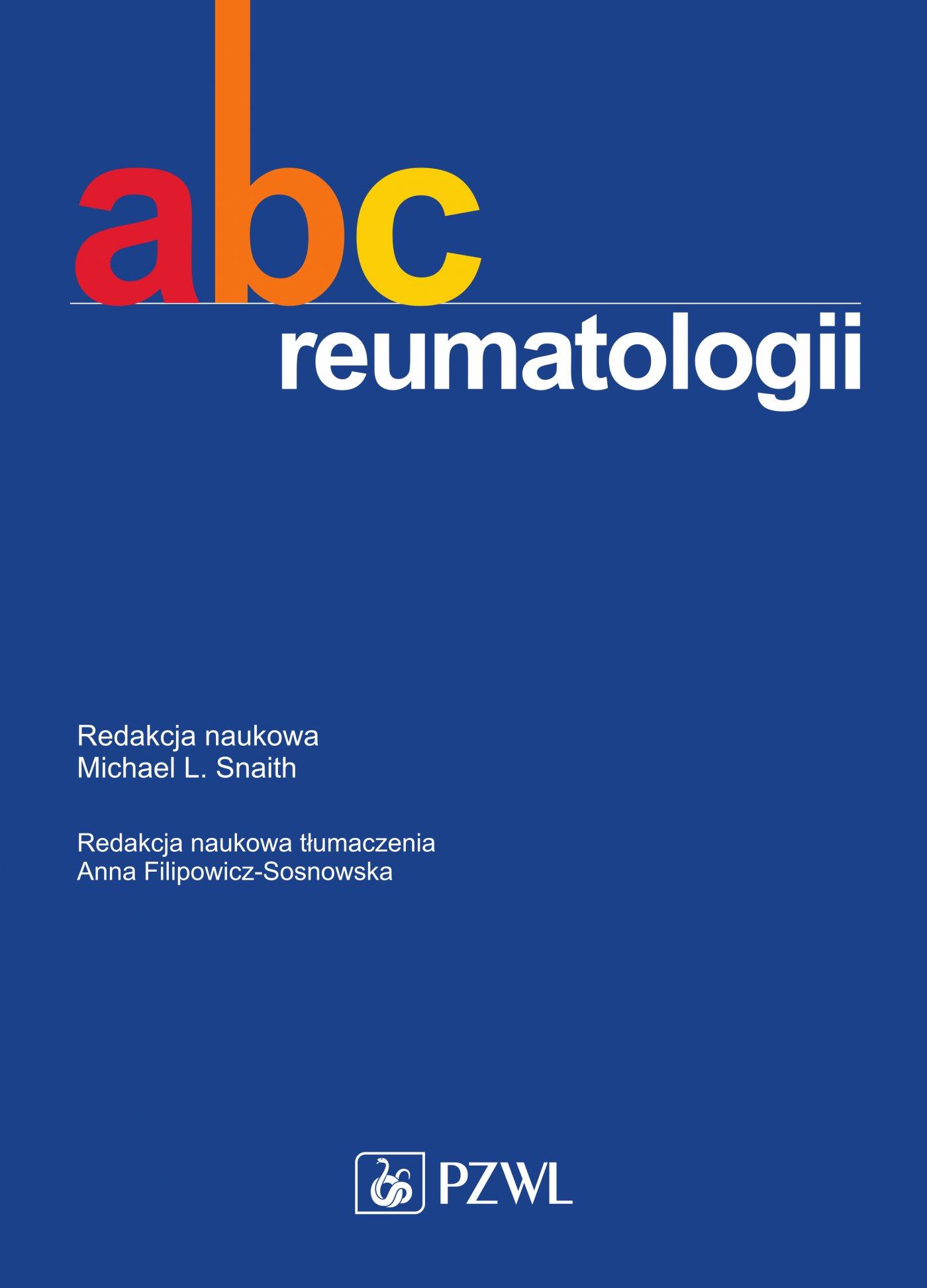 ABC reumatologii - Ebook (Książka EPUB) do pobrania w formacie EPUB
