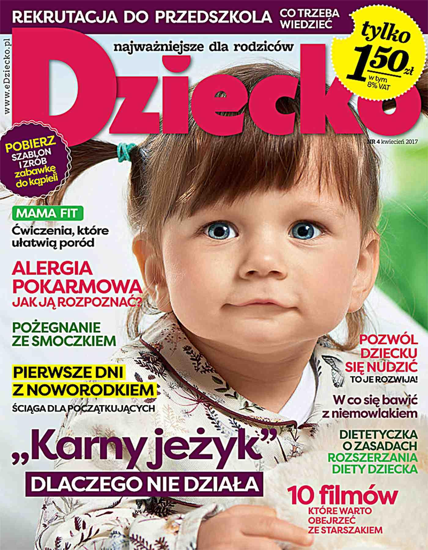 Dziecko 4/2017 - Ebook (Książka PDF) do pobrania w formacie PDF