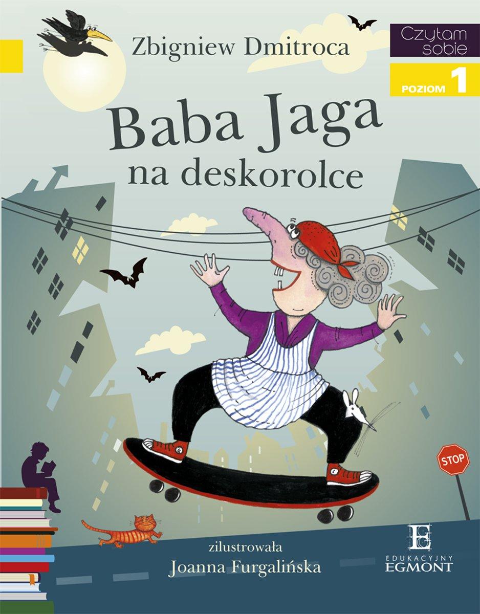 Baba Jaga Na Deskorolce - Ebook (Książka EPUB) do pobrania w formacie EPUB