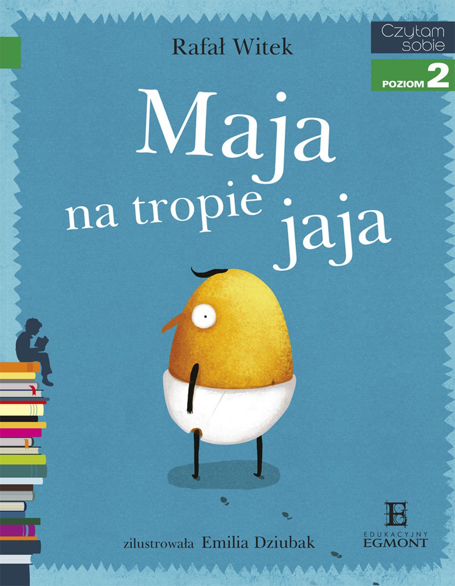 Maja na tropie jaja - Ebook (Książka EPUB) do pobrania w formacie EPUB