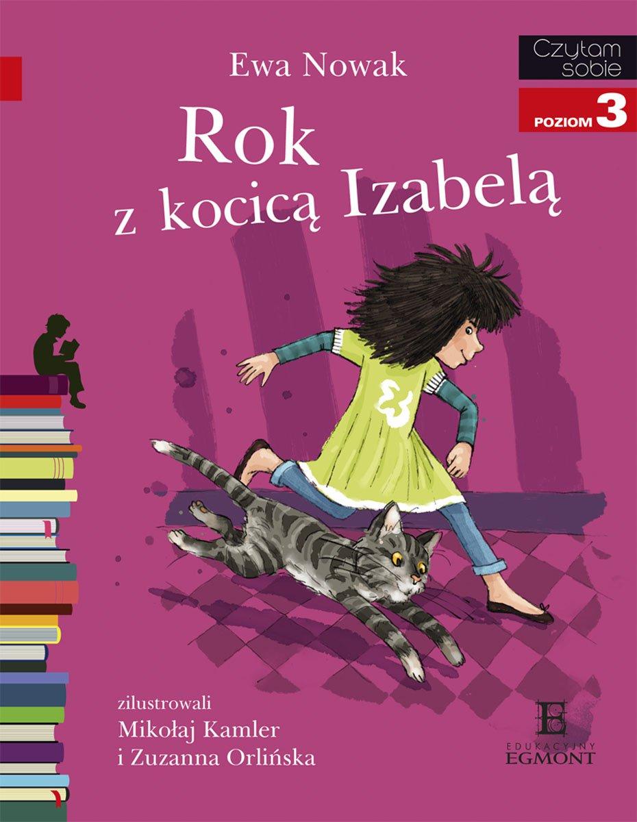 Rok z kocicą Izabelą - Ebook (Książka EPUB) do pobrania w formacie EPUB
