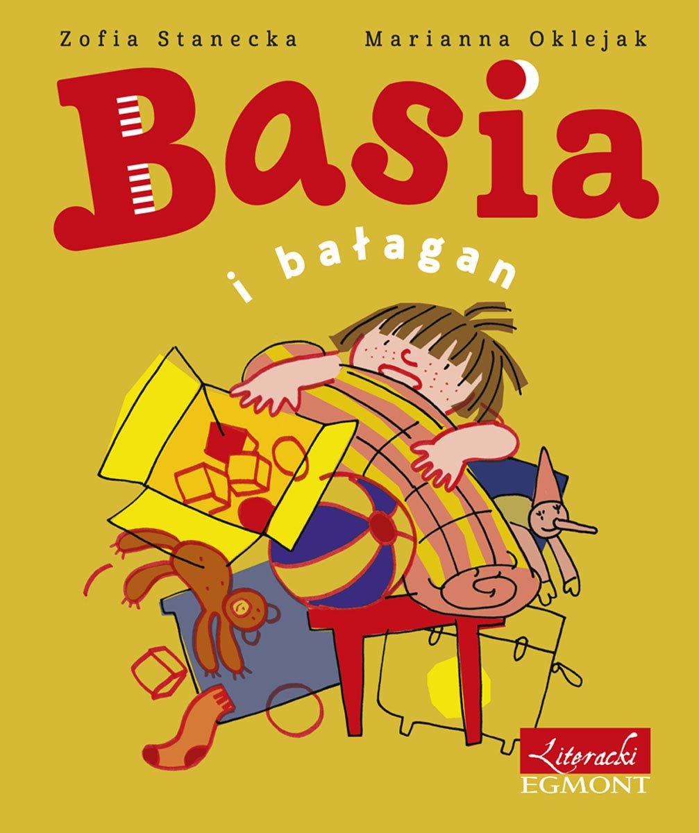 Basia i bałagan - Ebook (Książka EPUB) do pobrania w formacie EPUB