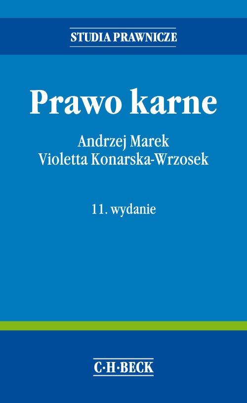 Prawo karne. Wydanie 11 - Ebook (Książka EPUB) do pobrania w formacie EPUB