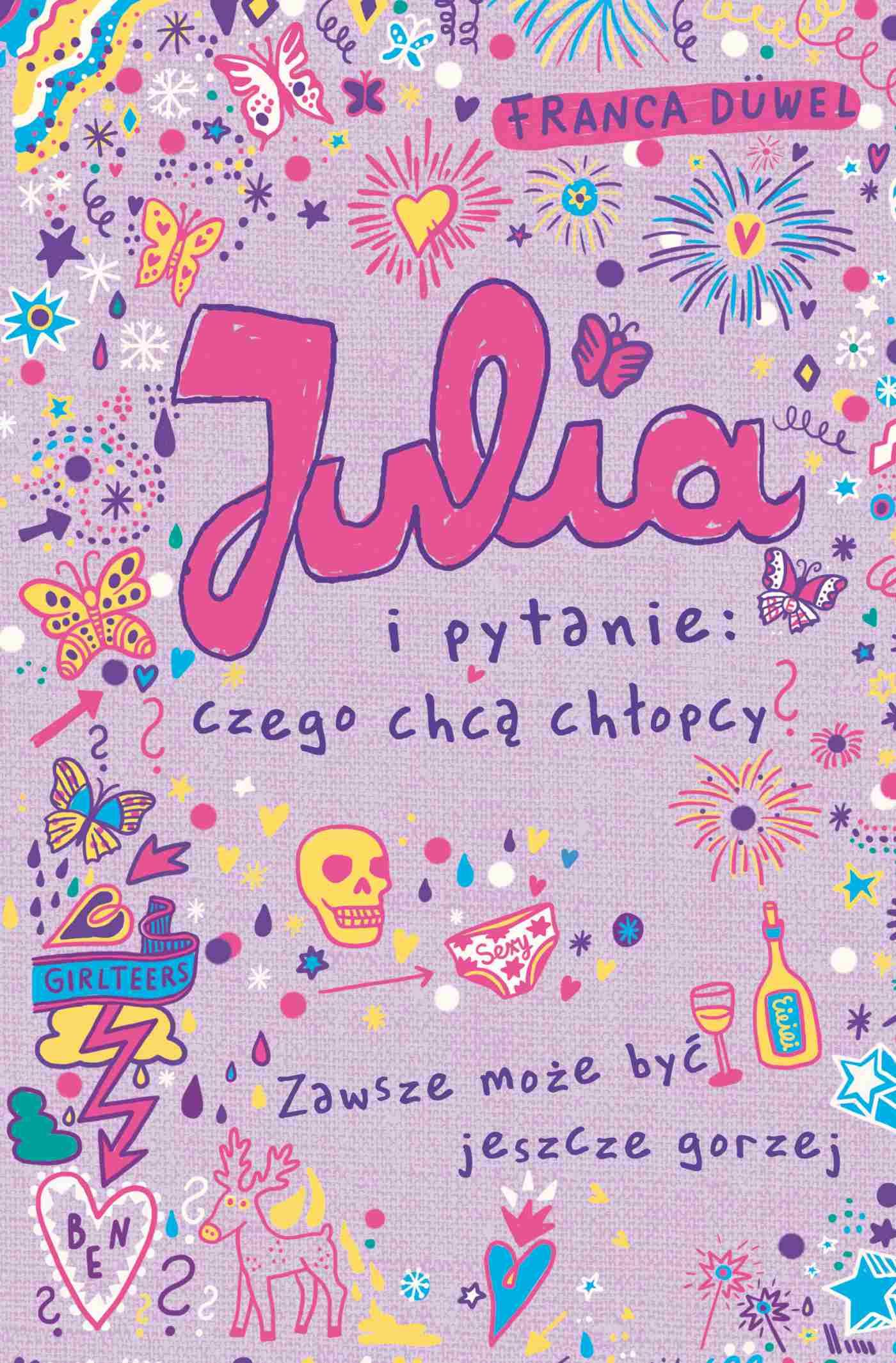 Julia i pytanie: czego chcą chłopcy? - Ebook (Książka EPUB) do pobrania w formacie EPUB