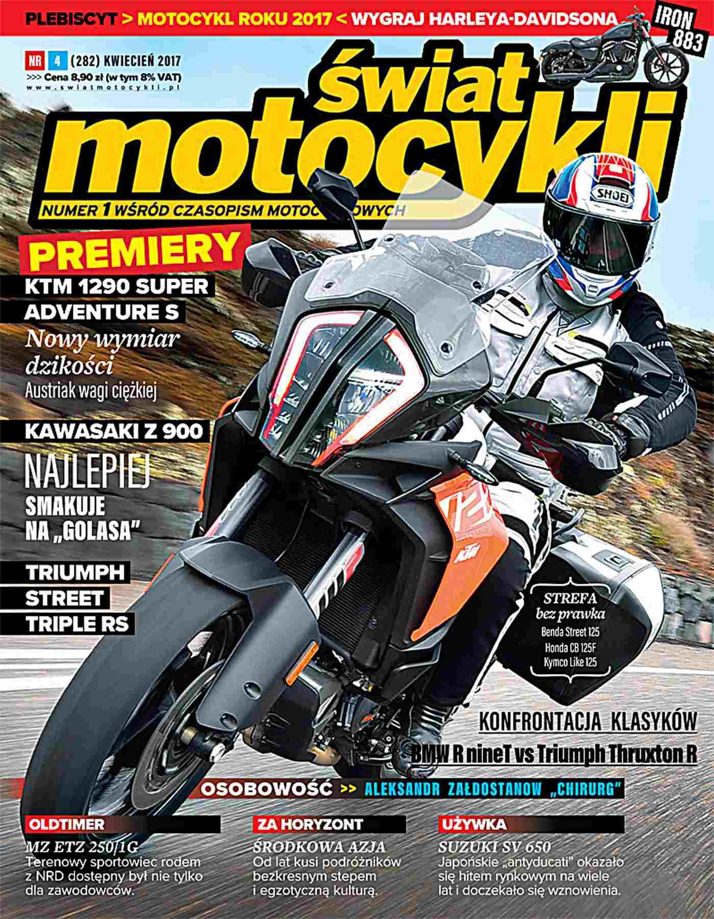 Świat Motocykli 4/2017 - Ebook (Książka PDF) do pobrania w formacie PDF
