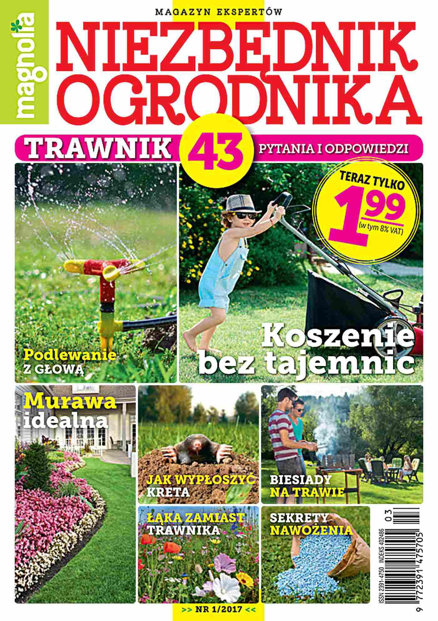 Niezbędnik Ogrodnika 1/2017 - Ebook (Książka PDF) do pobrania w formacie PDF