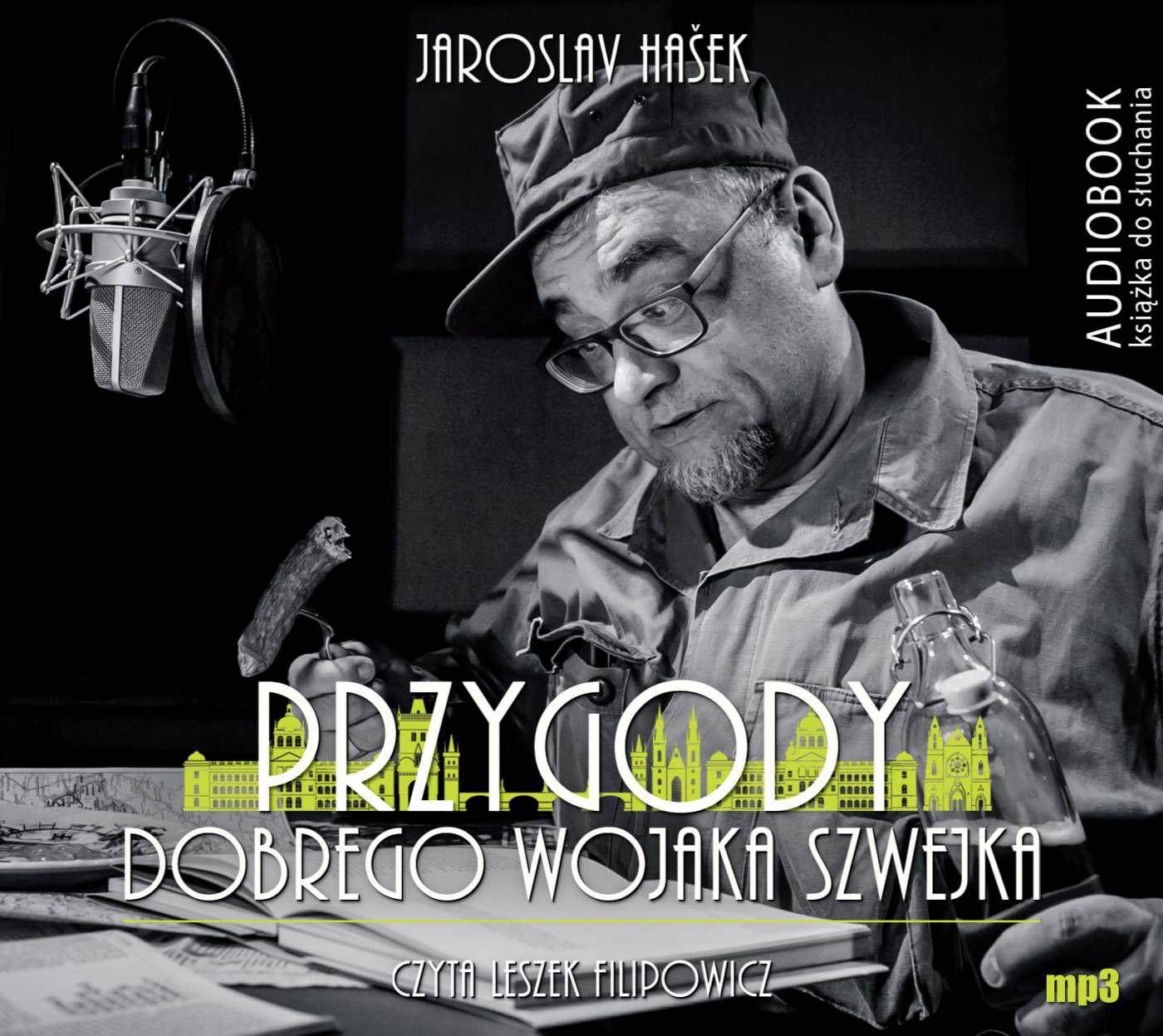 Przygody dobrego Wojaka Szwejka - darmowy fragment - Audiobook (Książka audio MP3) do pobrania w całości w archiwum ZIP