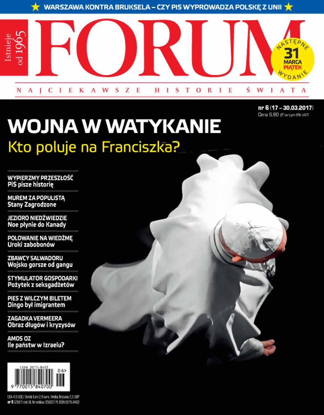 Forum nr 6/2017 - Ebook (Książka PDF) do pobrania w formacie PDF