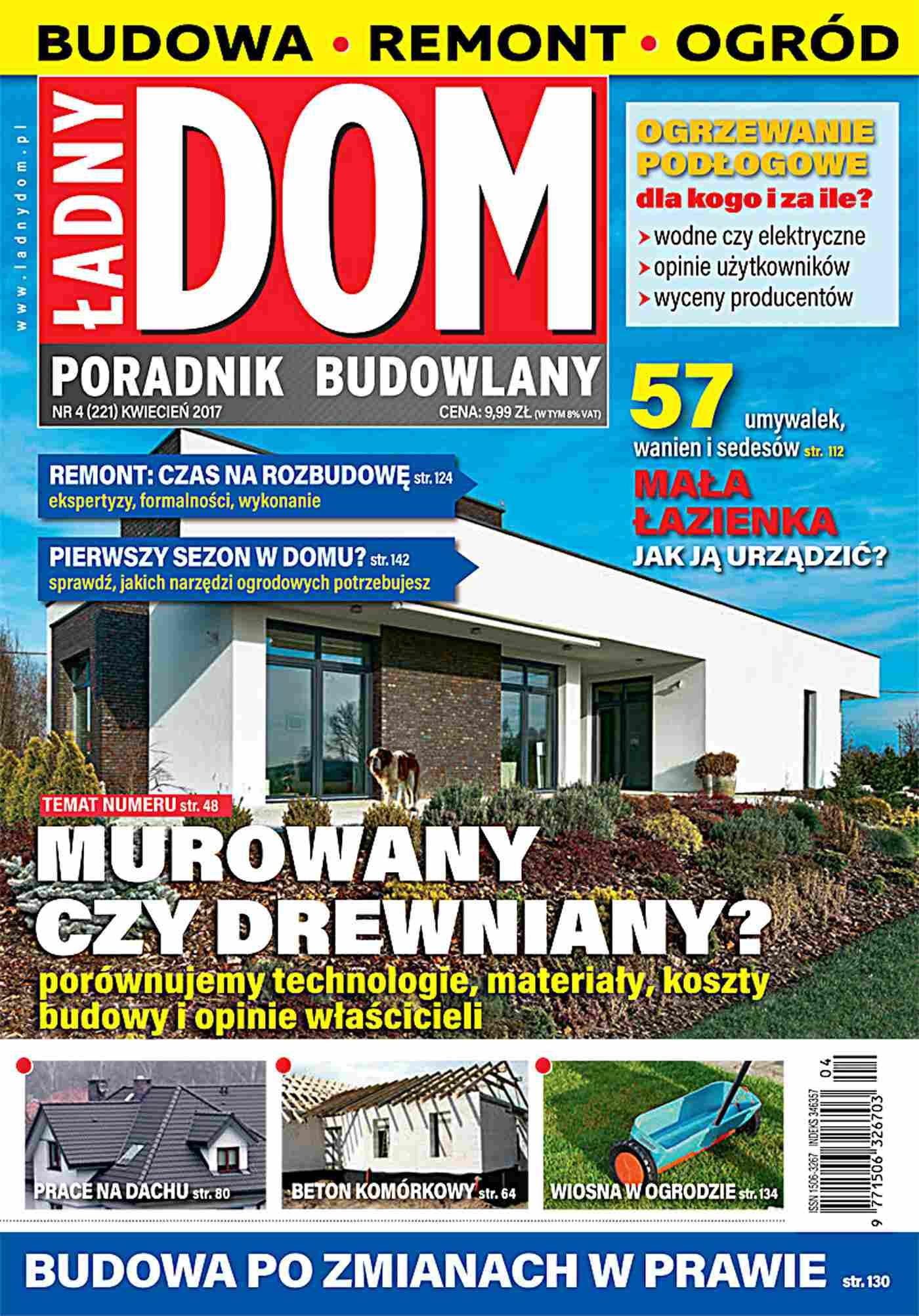 Ładny Dom 4/2017 - Ebook (Książka PDF) do pobrania w formacie PDF