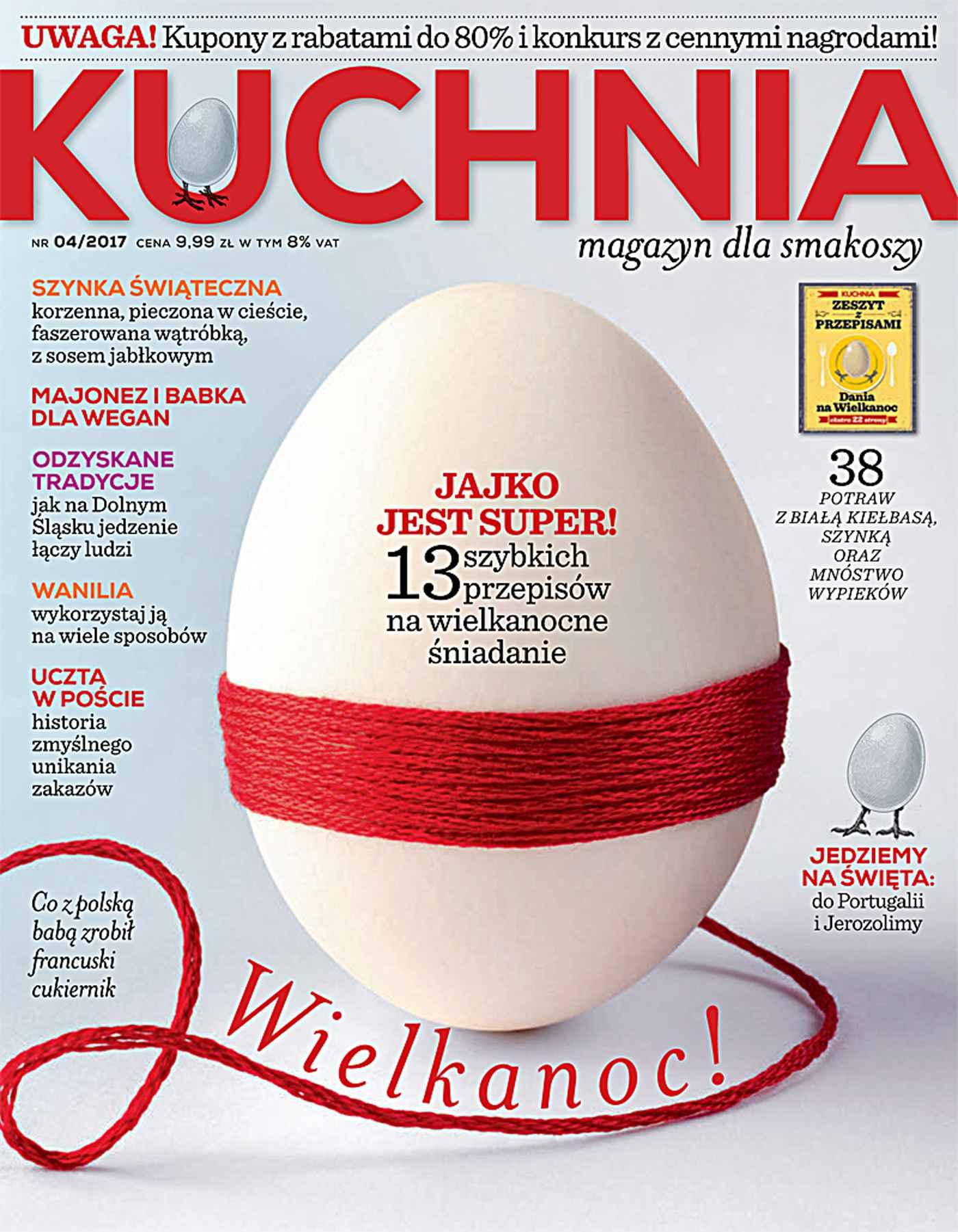 Kuchnia 4/2017 - Ebook (Książka PDF) do pobrania w formacie PDF