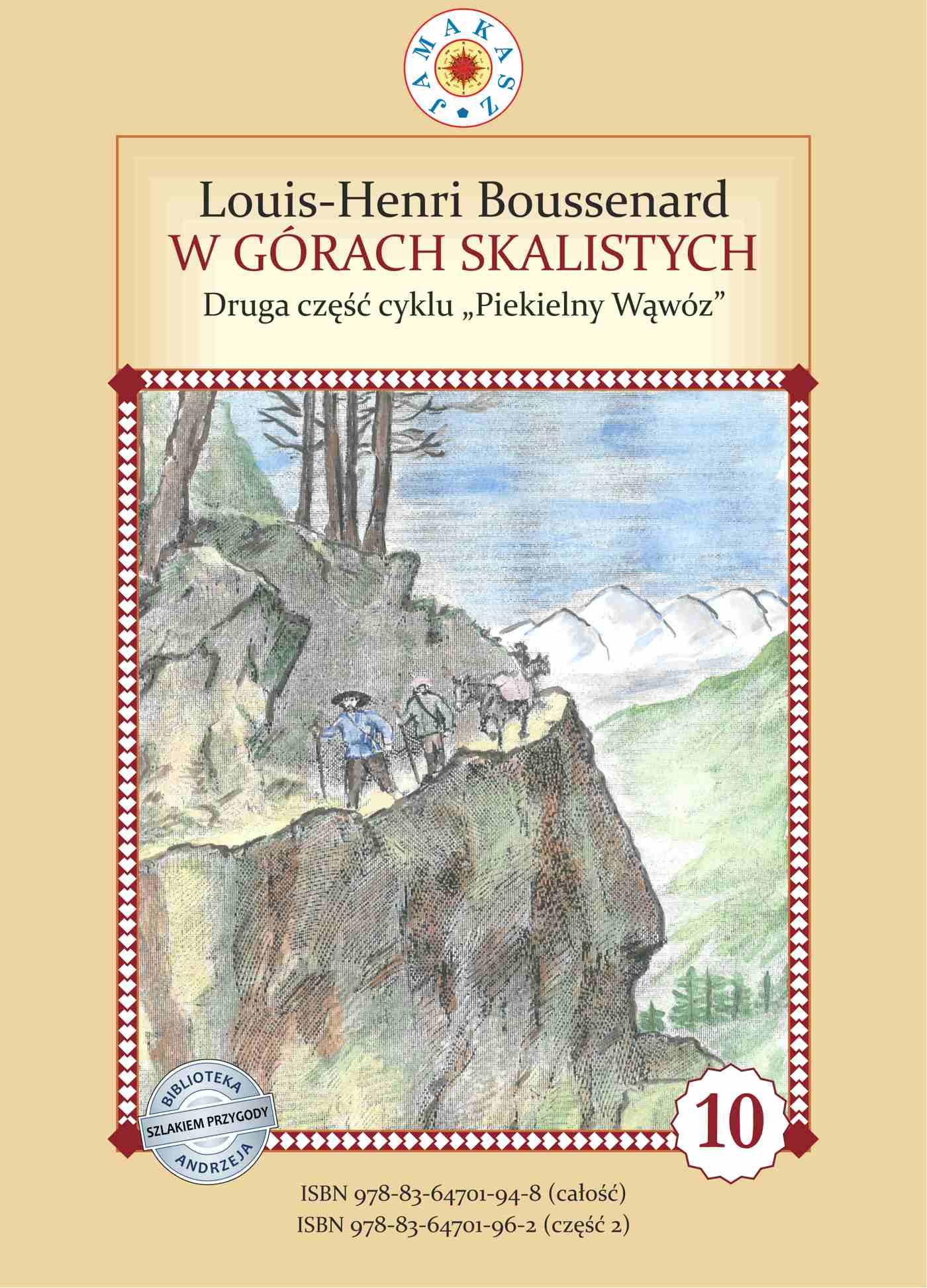 Piekielny Wąwóz. Część II. W Górach Skalistych - Ebook (Książka na Kindle) do pobrania w formacie MOBI