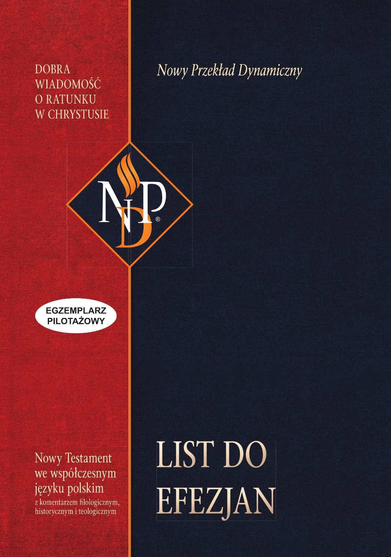 List do Efezjan (NPD) - Ebook (Książka EPUB) do pobrania w formacie EPUB
