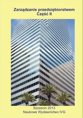 Zarządzanie przedsiębiorstwem. Część II - Ebook (Książka PDF) do pobrania w formacie PDF