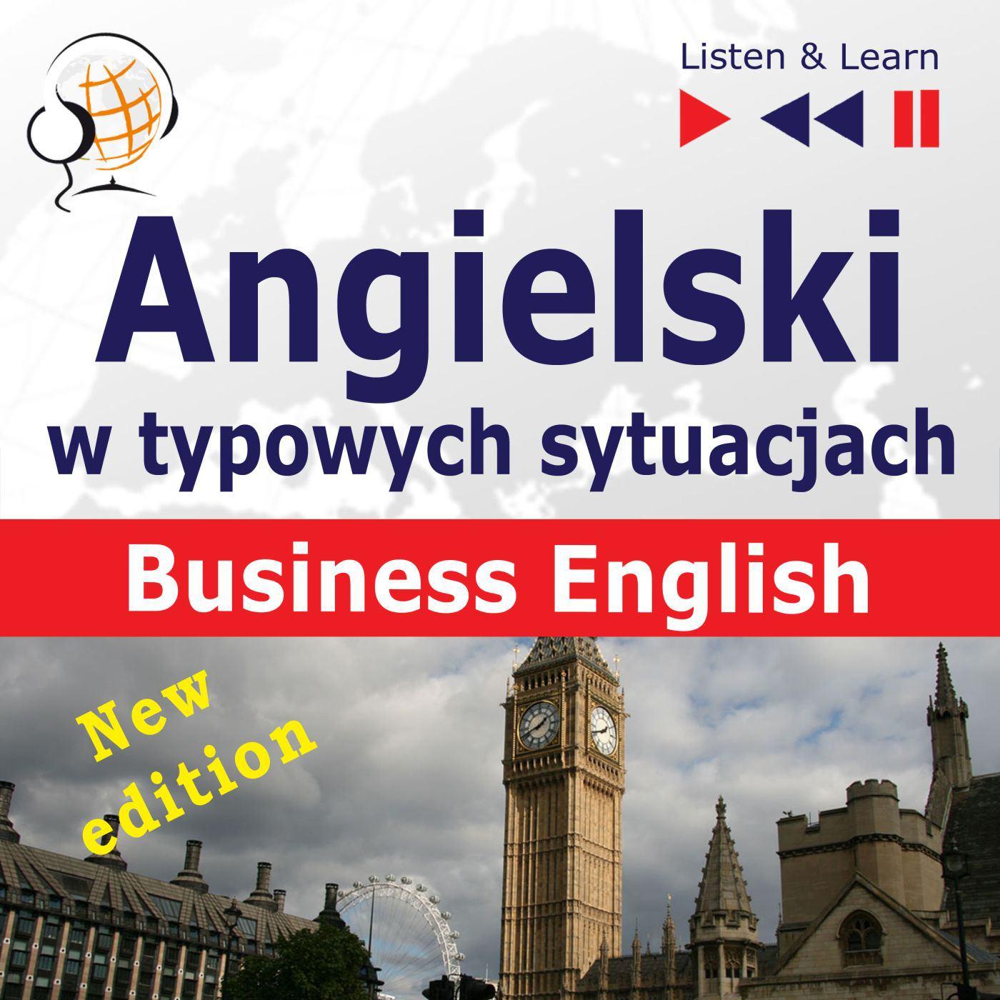 Angielski w typowych sytuacjach. Business English - Audiobook (Książka audio MP3) do pobrania w całości w archiwum ZIP