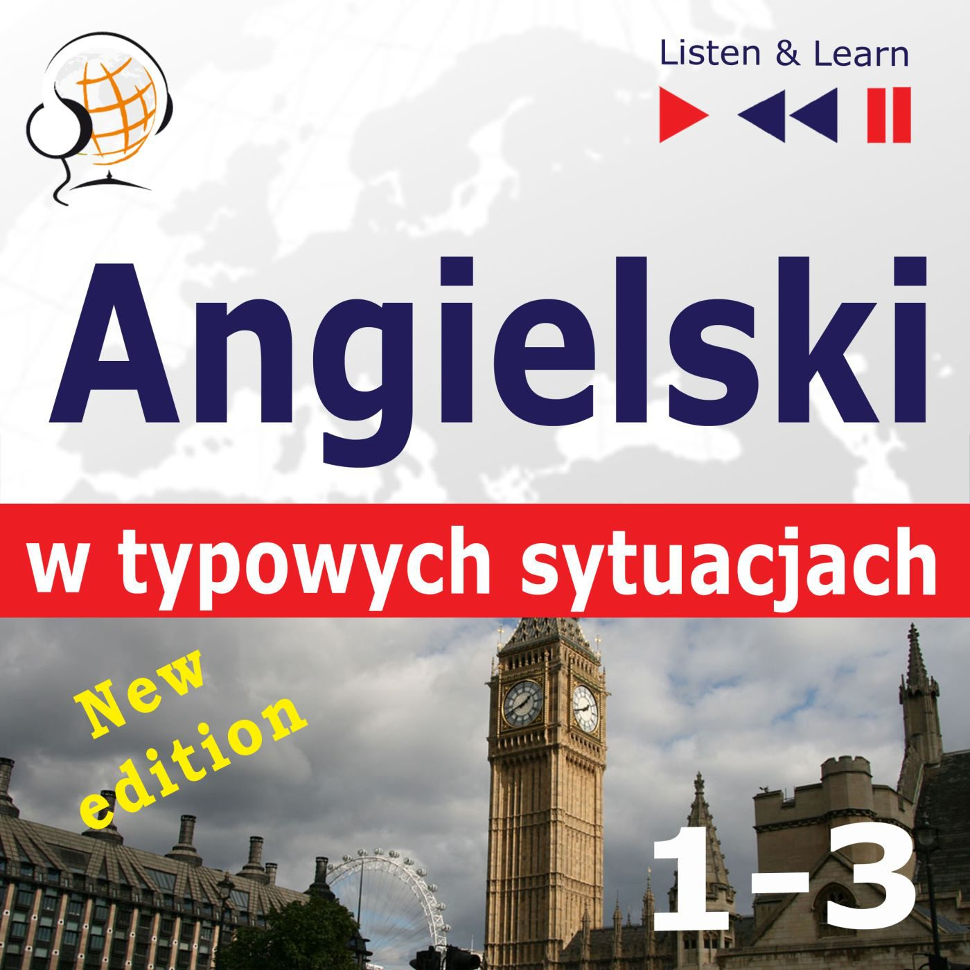 Angielski w typowych sytuacjach. 1-3 - Audiobook (Książka audio MP3) do pobrania w całości w archiwum ZIP