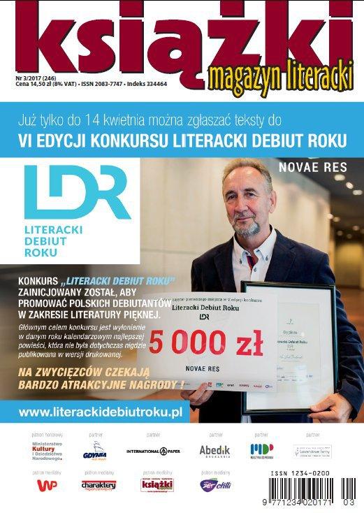 Magazyn Literacki KSIĄŻKI 3/2017 - Ebook (Książka PDF) do pobrania w formacie PDF