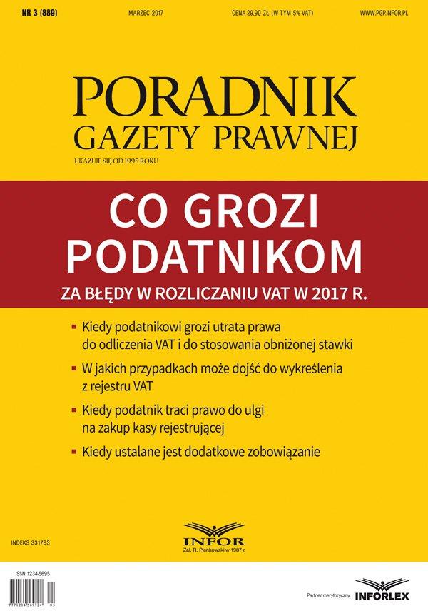 Co grozi podatnikom za błędy w rozliczaniu VAT w 2017 r - Ebook (Książka PDF) do pobrania w formacie PDF