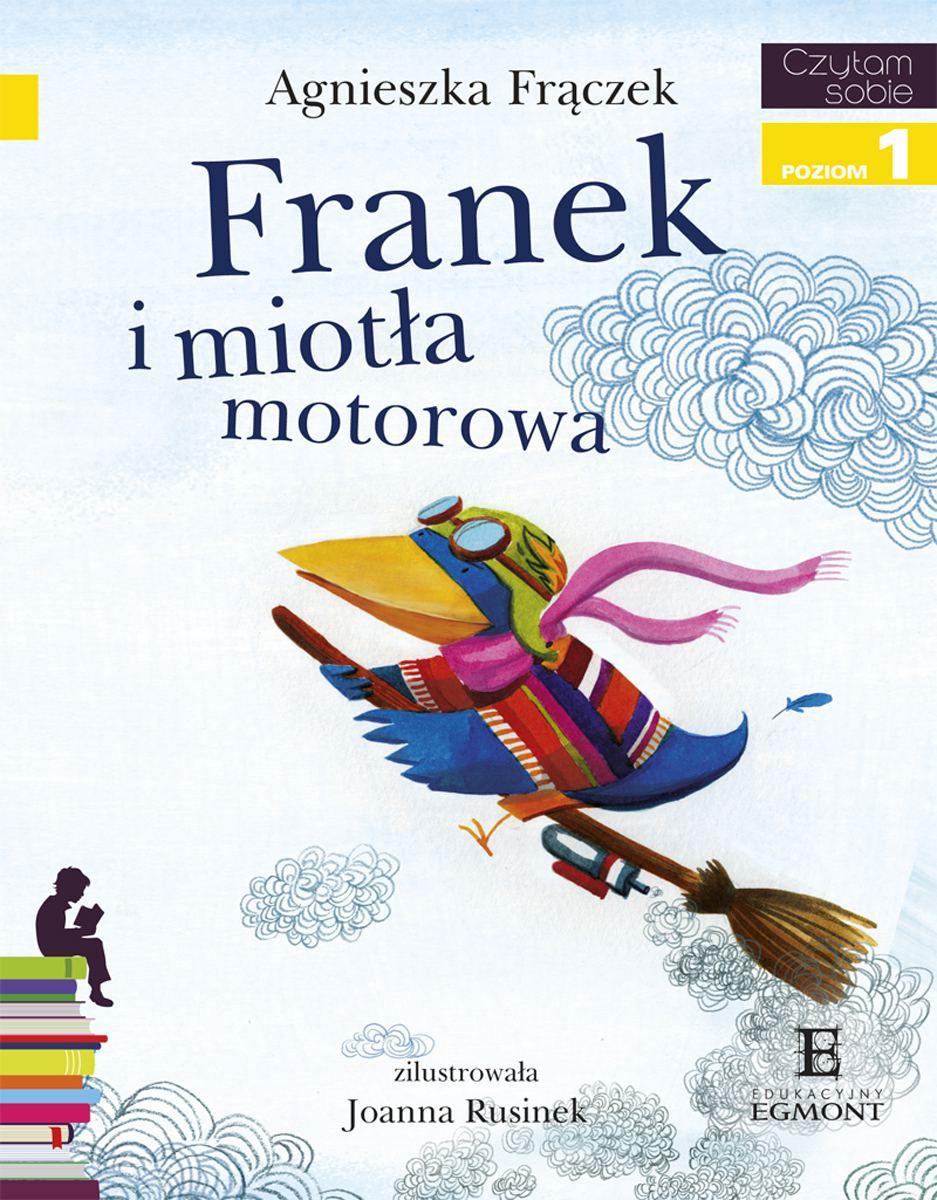 Franek i Miotła Motorowa - Ebook (Książka na Kindle) do pobrania w formacie MOBI