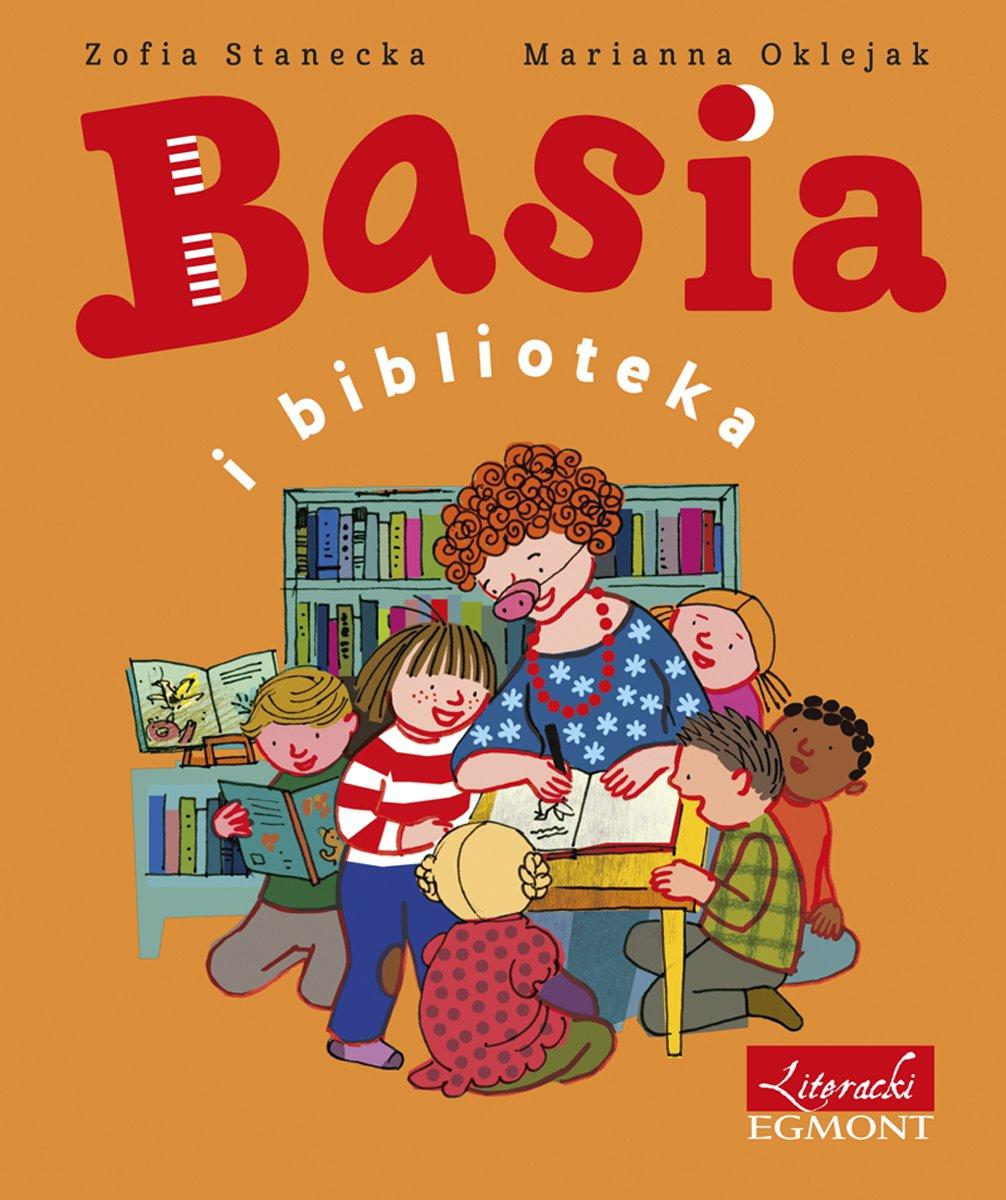 Basia i biblioteka - Ebook (Książka na Kindle) do pobrania w formacie MOBI