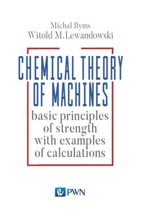 Chemistry Theory of Machines - Ebook (Książka na Kindle) do pobrania w formacie MOBI