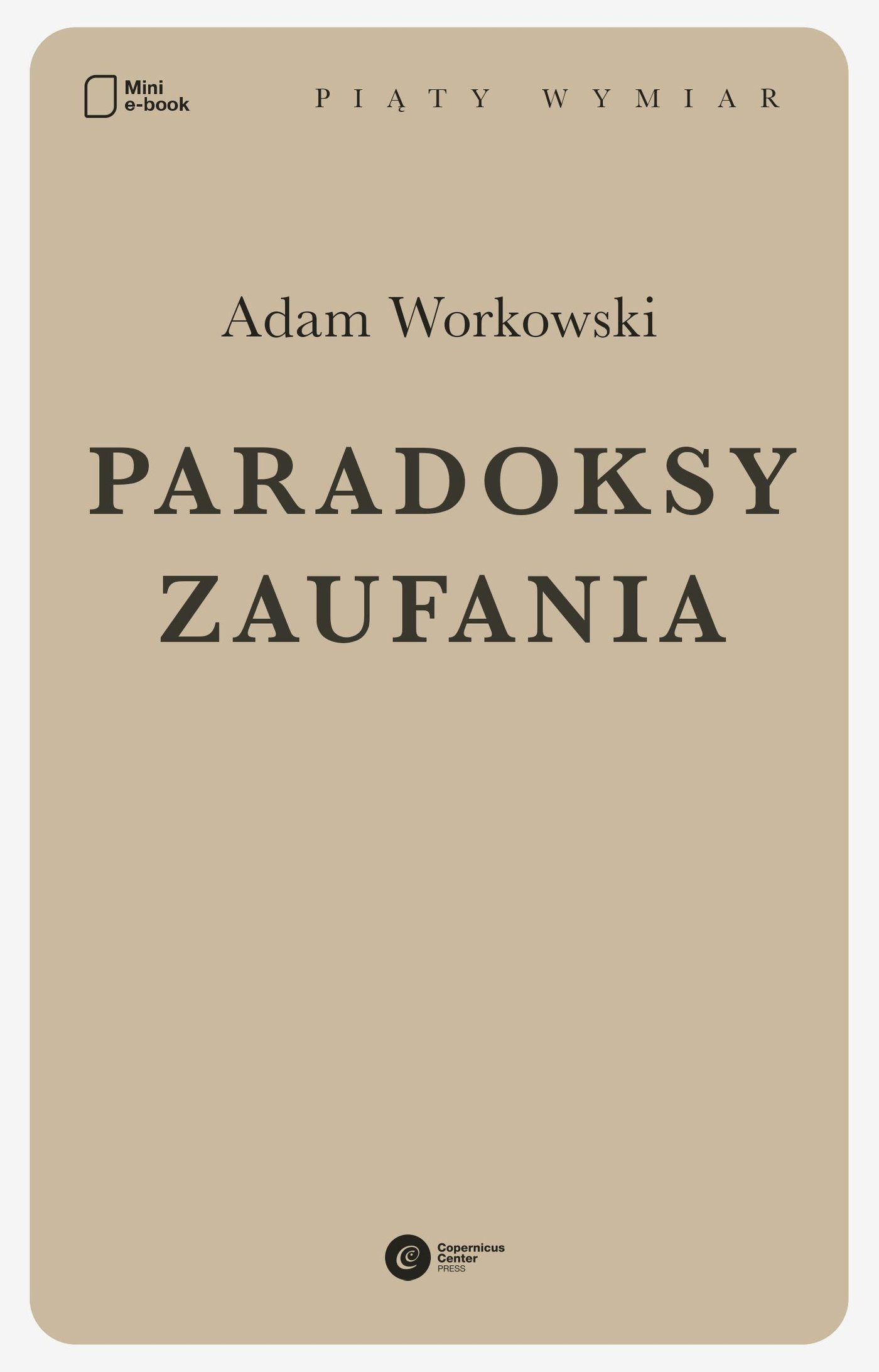 Paradoksy zaufania - Ebook (Książka na Kindle) do pobrania w formacie MOBI