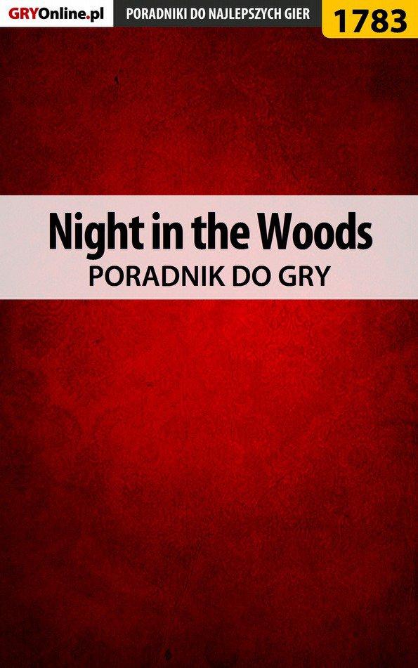 Night in the Woods - poradnik do gry - Ebook (Książka PDF) do pobrania w formacie PDF