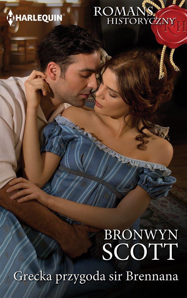 Grecka przygoda sir Brennana - Ebook (Książka na Kindle) do pobrania w formacie MOBI