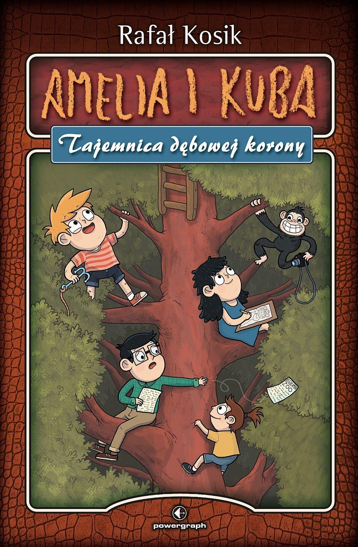 Amelia i Kuba. Tajemnica dębowej korony - Ebook (Książka EPUB) do pobrania w formacie EPUB