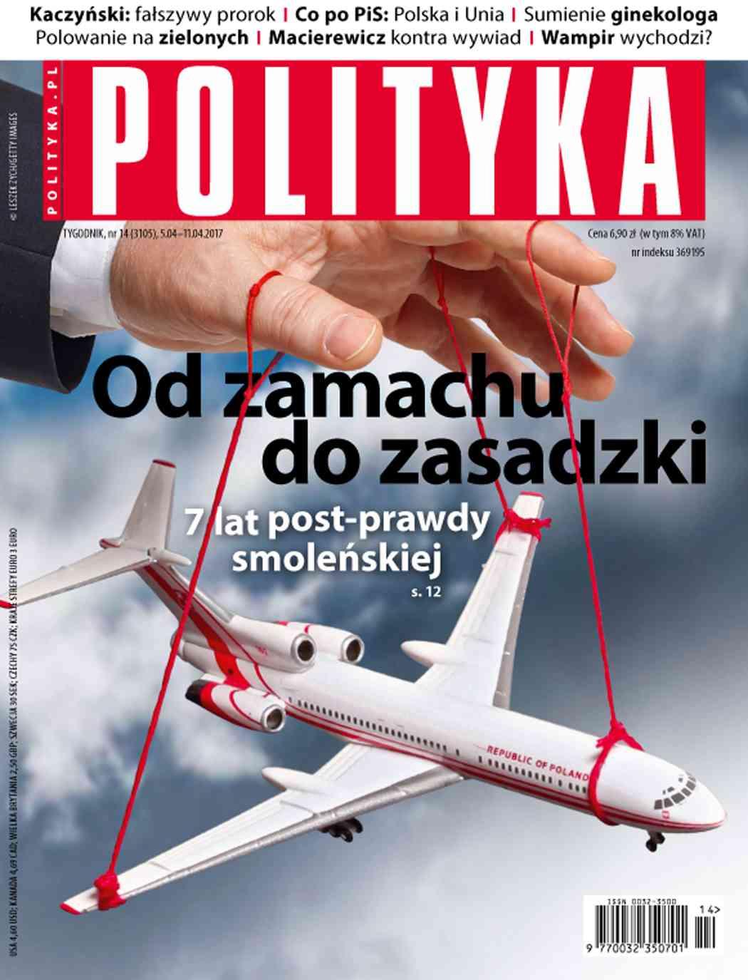 Polityka nr 14/2017 - Ebook (Książka PDF) do pobrania w formacie PDF